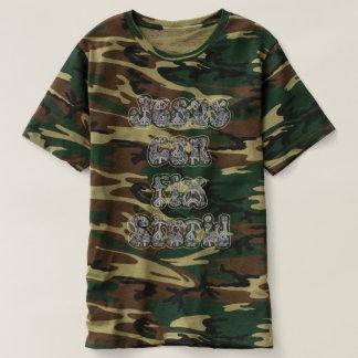 Camiseta Jesus pode fixar estúpido