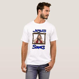 Camiseta Jesus salvar o t-shirt