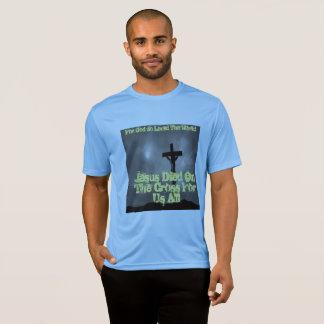 Camiseta Jesus vive hoje t-shirt dos homens por Cheyene M