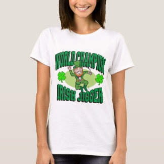 Camiseta Jigger do irlandês do campeão do mundo