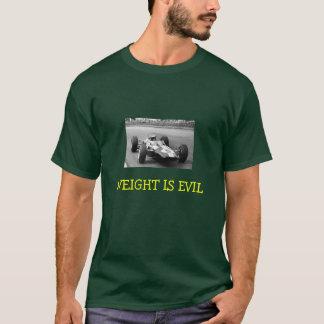 Camiseta Jimmy Clark, PESO É MAU