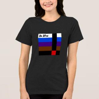 Camiseta Jiu Jitsu cerca o t-shirt das mulheres