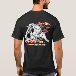 Camiseta Jiu-Jitsu embandeira a estrela…!!!