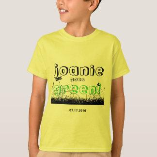 Camiseta Joanie vai verde!