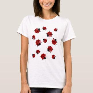 Camiseta Joaninha, cascata da joaninha