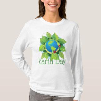 Camiseta Joaninha do ✿ do Dia da Terra