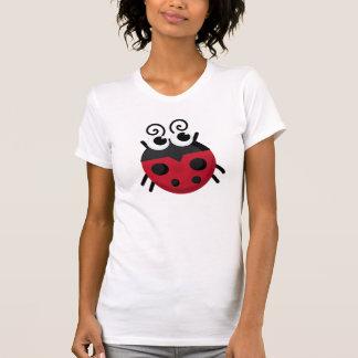 Camiseta Joaninha dos desenhos animados