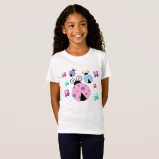 Camiseta Joaninhas e t-shirt da menina das margaridas