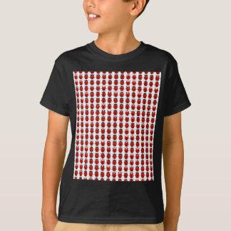 Camiseta Joaninhas pequenos vermelhos