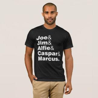 Camiseta Joe Jim Alfie Caspar Marcus