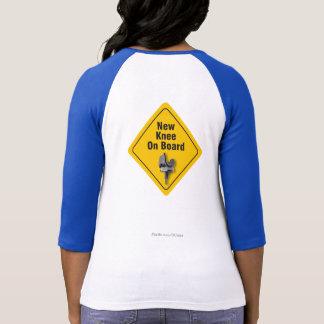 """Camiseta """"Joelho novo a bordo"""" do t-shirt total da"""
