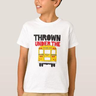 Camiseta Jogado sob o ônibus