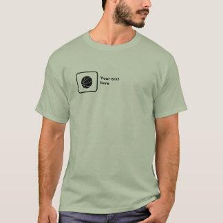 Camiseta Jogador de basquetebol (logotipo pequeno) --