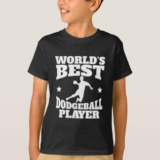 Camiseta Jogador de Dodgeball dos mundos o melhor