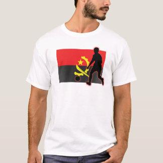 Camiseta Jogador de futebol de Angola