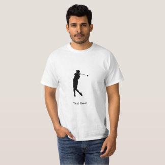 Camiseta Jogador de golfe