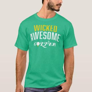Camiseta Jogador de golfe impressionante mau