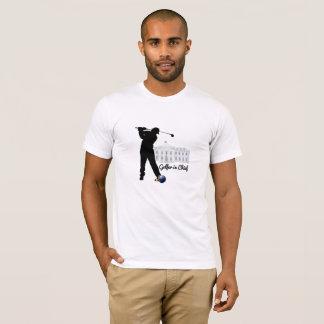 Camiseta Jogador de golfe no chefe