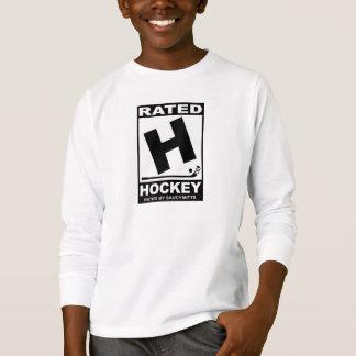 Camiseta Jogador de hóquei H avaliado para o hóquei