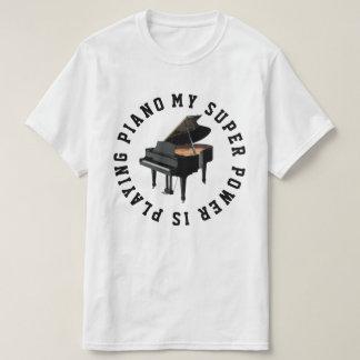 Camiseta Jogador de piano