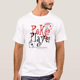 Camiseta jogador de póquer