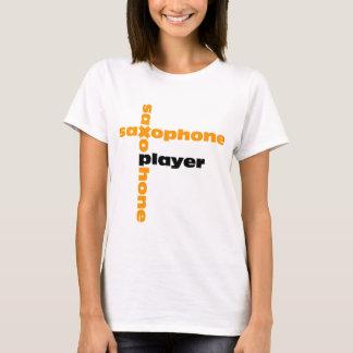 Camiseta Jogador de saxofone