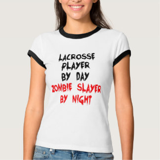 Camiseta Jogador do Lacrosse do assassino do zombi