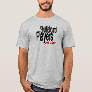Camiseta Jogadores do Shuffleboard melhora