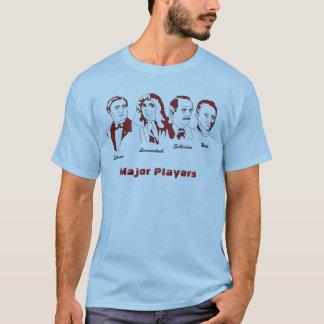 Camiseta Jogadores principais da teoria da pilha