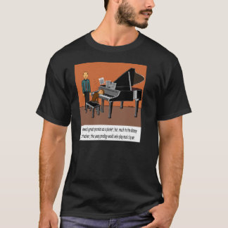 Camiseta Jogando a música pela orelha