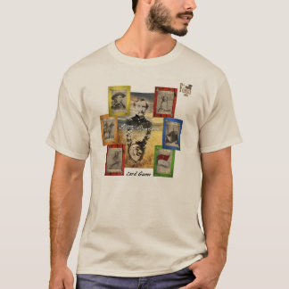 Camiseta Jogo de cartas do Rummy do Little Bighorn