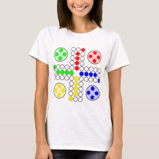 Camiseta Jogo de mesa do clássico de Ludo