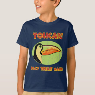 Camiseta Jogo de Toucan QUE jogo