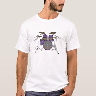 Camiseta Jogo do cilindro de 5 partes - revestimento