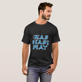 Camiseta Jogo do começo da engrenagem