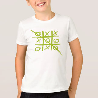 Camiseta Jogo dos Noughts e das cruzes de Tris do
