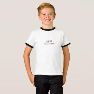 Camiseta Jogo: é como eu aprendo