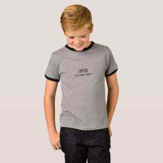 Camiseta Jogo: é como eu aprendo (a parte dianteira
