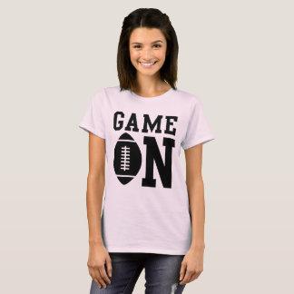 Camiseta Jogo Em no futebol ilustrado