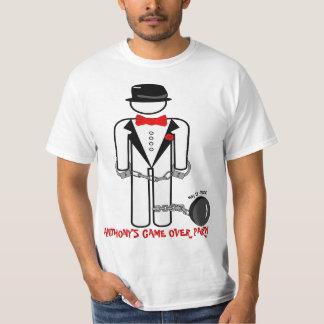 Camiseta Jogo engraçado personalizado sobre o partido