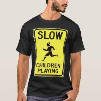 Camiseta Jogo lento das crianças