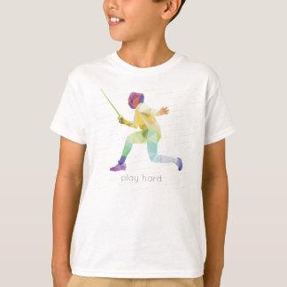 Camiseta Jogo Origami de cerco duro
