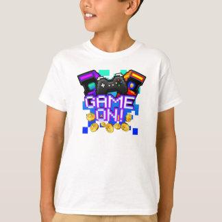 Camiseta Jogo sobre! Caçoa o t-shirt branco