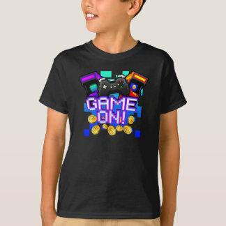 Camiseta Jogo sobre! Caçoa o t-shirt escuro