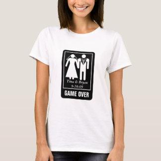 Camiseta Jogo sobre customizável