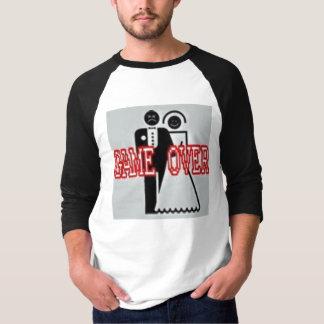 Camiseta Jogo sobre o t-shirt do casamento