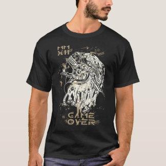 Camiseta Jogo sobre o t-shirt notável da tipografia da arte