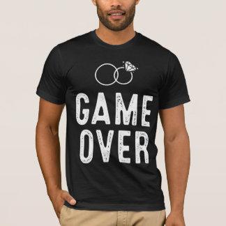 Camiseta Jogo sobre o t-shirt para o despedida de solteiro