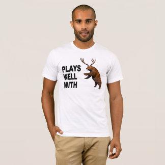 Camiseta Jogos bem com cerveja