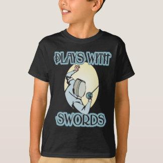 Camiseta Jogos com espadas